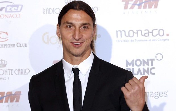 Ibrahimovic, Golden Foot (Foto: Agência AFP)