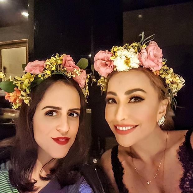 Paula Bezerra de Mello e Sabrina Sato (Foto: reprodução/Instagram)