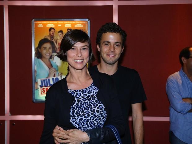 Maria Paula em pré-estreia de filme (Foto: Marcello Sá Barretto/AgNews)