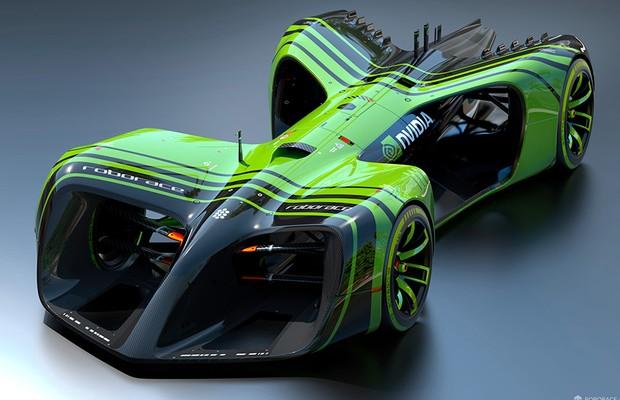Roborace será a primeira competição de carros autônomos (Foto: Roborace)