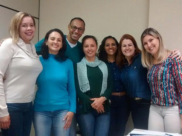 Coordenadores e Voluntários do GAA  (Foto: Divulgação)