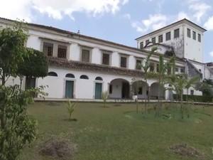 Religiosa viveu no Convento de Santa Clara do Desterro, em Salvador.  (Foto: Reprodução / TV Bahia)