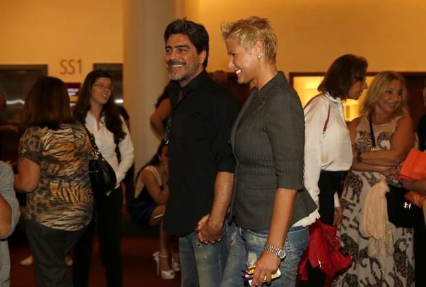 Xuxa e Junno (Foto: Marcos Serra Lima/ EGO)