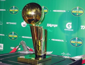 NBA Global Tour - troféu  (Foto: Fabio Leme)