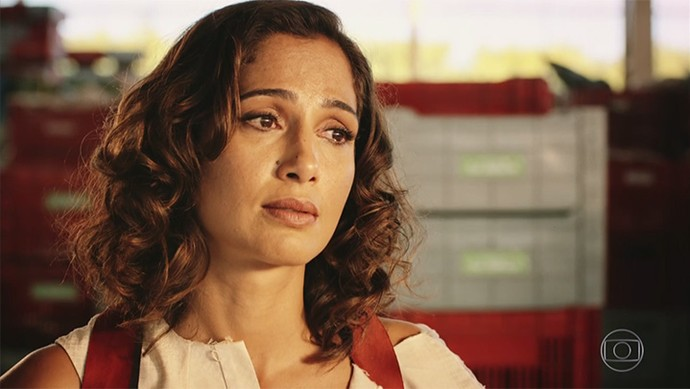 Tereza defende o marido (Foto: TV Globo)