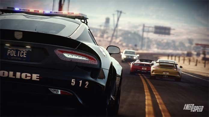Need for Speed Rivals tem proposta mais voltada para ação (Foto: Divulgação/EA)