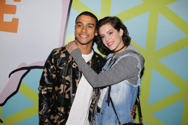 Sophia Abrahão e Sérgio Malheiros (Foto:  Thiago Duran/AgNews)