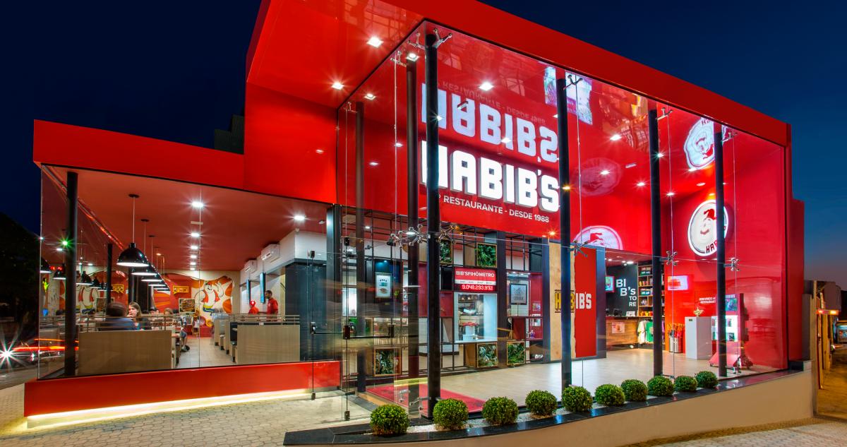 Loja do Habib's em Caieiras (SP). Saiba quanto custa para abrir uma loja (Foto: Divulgação)