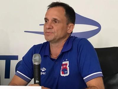 Wagner Lopes, Paraná Clube (Foto: Thiago Ribeiro)