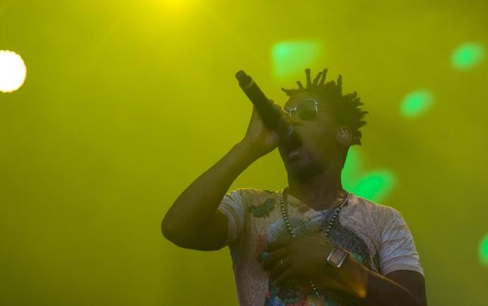 Toni Garrido volta ao palco do festival João Rock em Ribeirão Preto (Foto: Érico Andrade/Gshow)