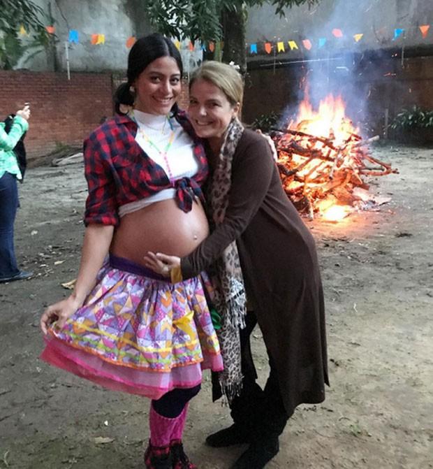 Carol Castro e Marcia Marbá (Foto: Reprodução)