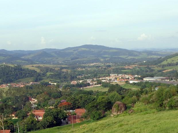 Vista de Morungaba (SP), cidade que integra o Circuito das Frutas (Foto: Matheus Filippi / G1 Campinas)
