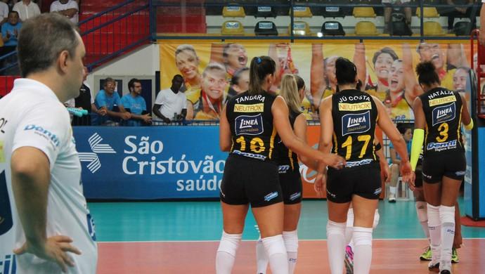 Praia Clube São Caetano Superliga Feminina Uberlândia (Foto: Praia Clube/Divulgação)
