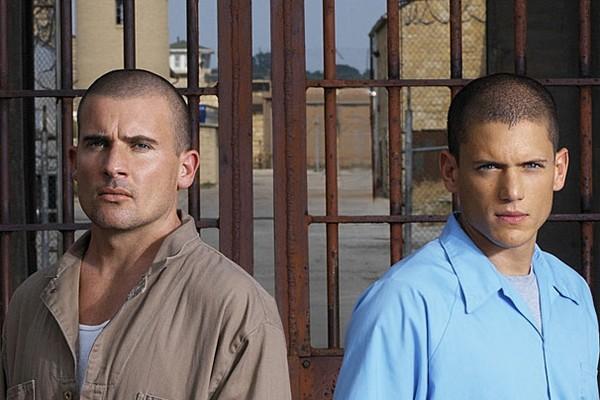 Dominic Purcell e Wentworth Miller em Prison Break (Foto: Divulgação)