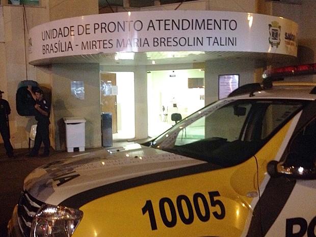 Pacientes que estavam na UPA foram transferidos para outras unidades (Foto: Priscila Luparelli/RPC TV)