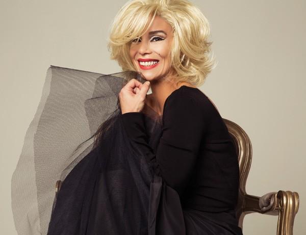 """""""Marilyn, a mulher por trás do mito, era bem mais interessante"""", disse Danielle Winits (Foto: Lucio Luna)"""