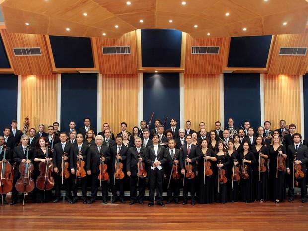 Orquestra Sinfônica de Minas Gerais (Foto: Paulo Lacerda)