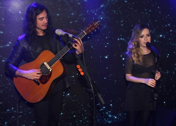 Tiago Iorc e Sandy (Foto: Thiago Duran/AgNews)