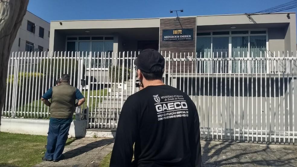Operação à Deriva investiga irregularidades no setor portuário, em Antonina (Foto: Amanda Menezes/ RPC Curitiba)
