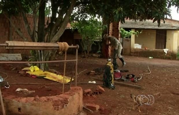 Deficiente morre ao limpar a cisterna da casa em que morava em Anápolis