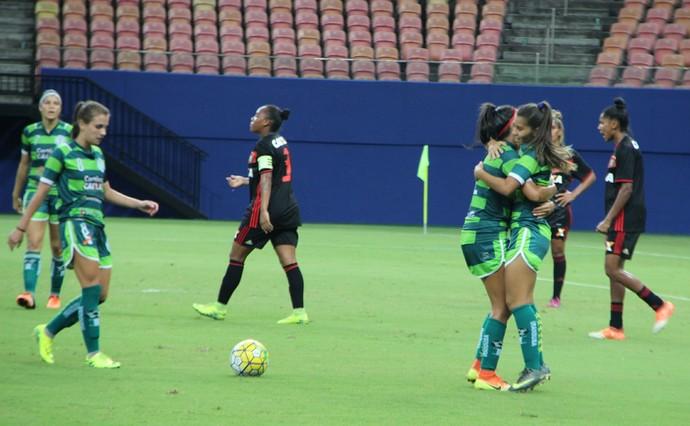 Iranduba e Sport futebol feminino (Foto: Patrick Marques)