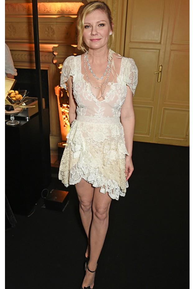 Kirsten Dunst em Paris (Foto: Getty Images)