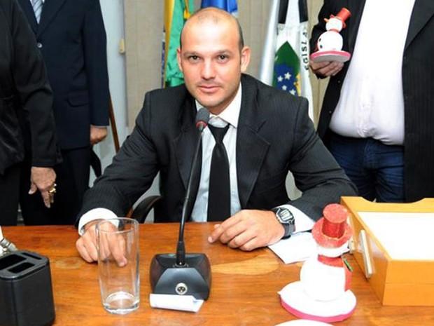 Fagner Vinícius Bussi da Silva (PV) (Foto: Reprodução/Facebook)