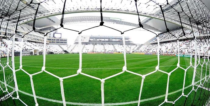 estádio Arena Corinthians jogo Fluminense (Foto: Marcos Ribolli / Globoesporte.com)