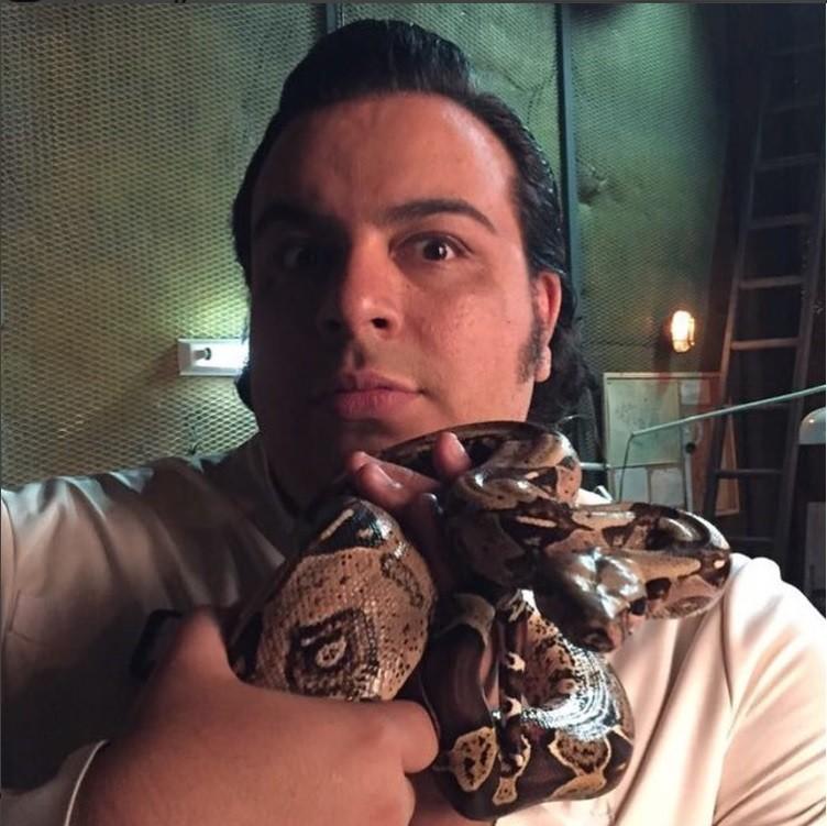 Luis Lobianco como o vilão Randolfo (Foto: Instagram)