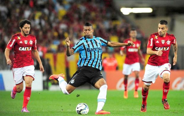 Flamengo X Grêmio - Maracanã (Foto: Dhavid Normando / Futura Press)