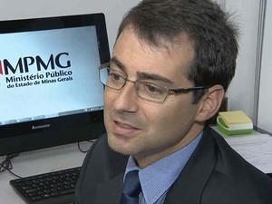 Promotor de Saúde Rodrigo Barros Juiz de Fora  (Foto: Reprodução/ TV Integração)
