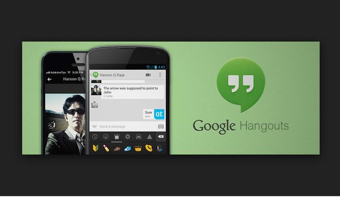 Hangouts é a aposta do Google que promete desbancar o WhatsApp (Foto: Divulgação/Google)