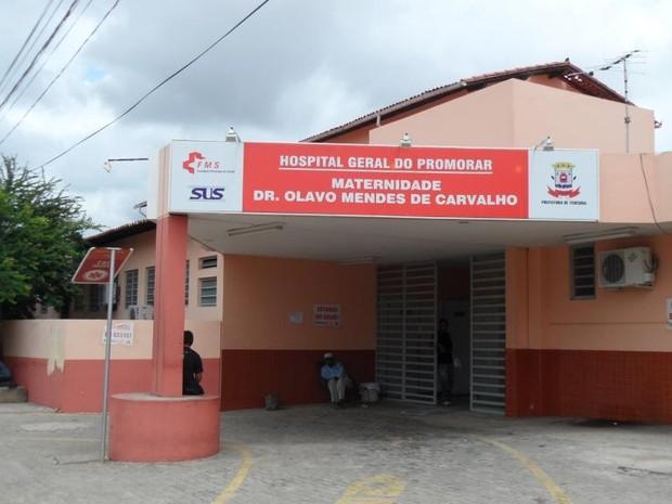 Segundo FHT, grávida chegou morta à Maternidade do Promorar (Foto: Fundação Hospital de Teresina)