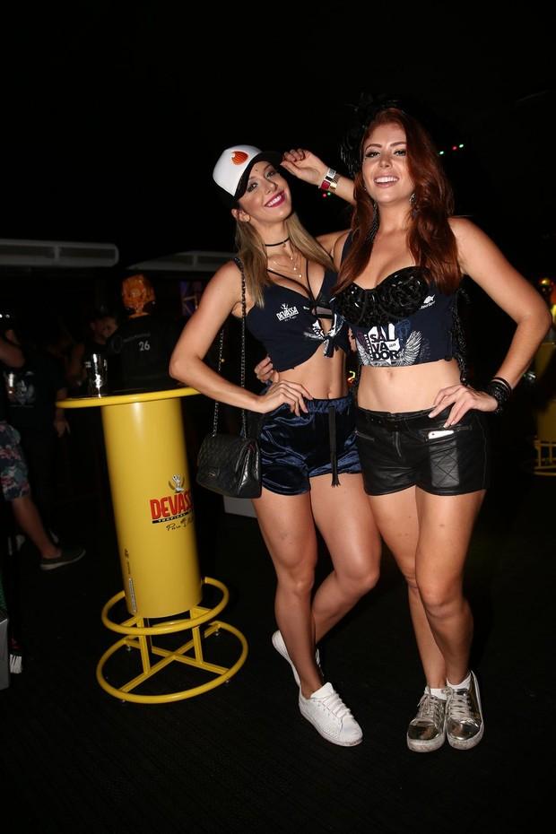 Tatiele Polyna e Amanda Gontijo  (Foto: Denilson Santos/AgNews)