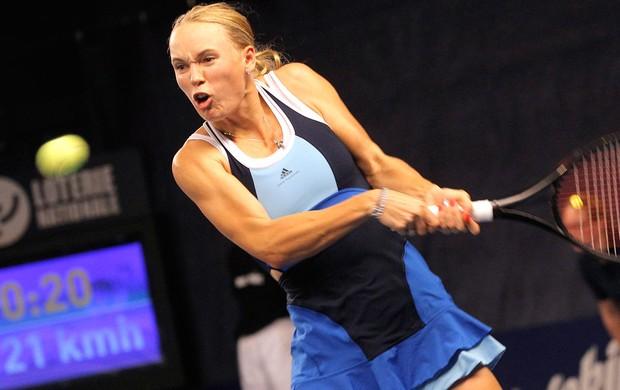 Tênis Wozniacki (Foto: Agência AP)