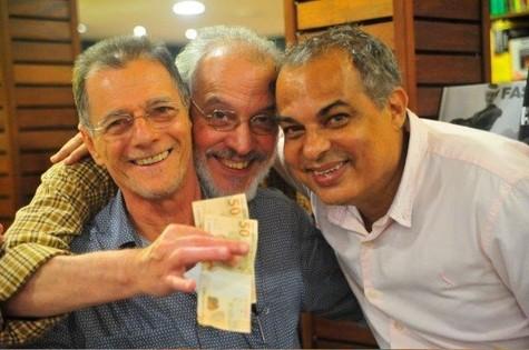 Ronaldo Santos, Charles Peixoto e Claufe Rodrigues (Foto: André Fernandes)