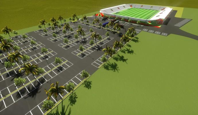uniao frederiquense estádio projeto (Foto: Reprodução)