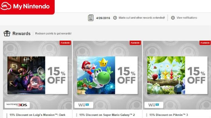 A oferta de jogos de Wii U no mynintendo muda de tempos em tempos (Foto: Reprodução/Thomas Schulze)