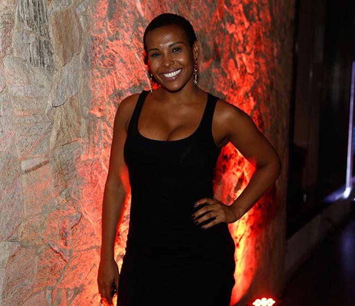Ex-BBB Solange com novo visual (Foto: Inácio Moraes/Gshow)