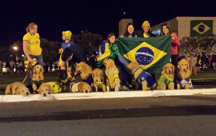 chegara seleção brasil hotel (Foto: Heitor Esmeriz)