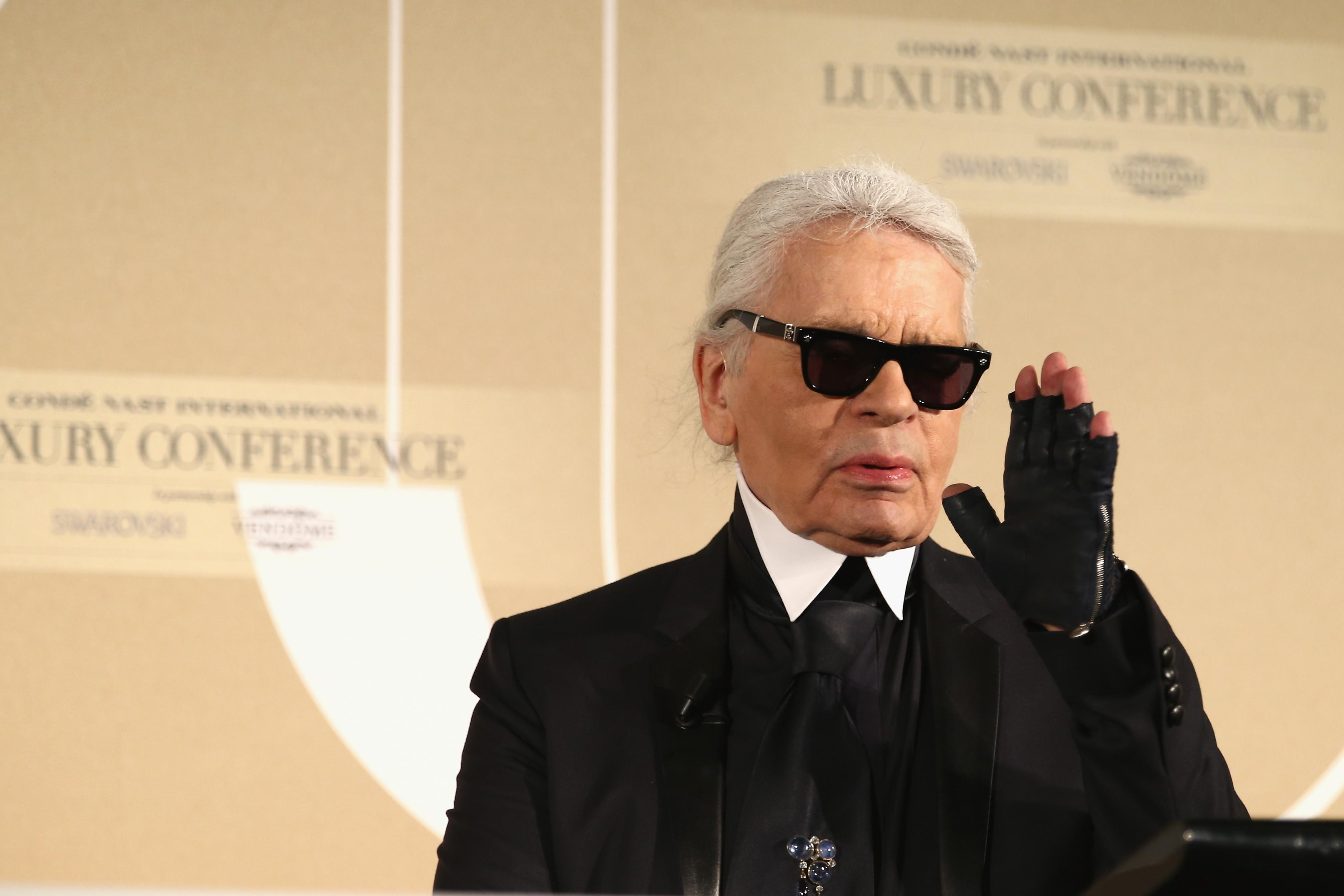 7 Frases De Karl Lagerfeld Direto Da Cni Luxury 2015