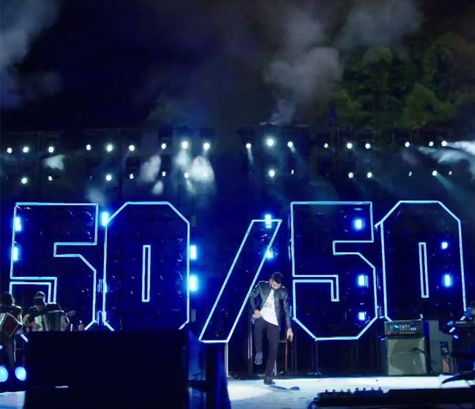 Vídeo faz parte do novo DVD de Gusttavo Lima 50/50 (Foto: Reprodução)