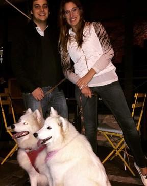 Karina Dohme com o marido, Lucas (Foto: Reprodução/Instagram)