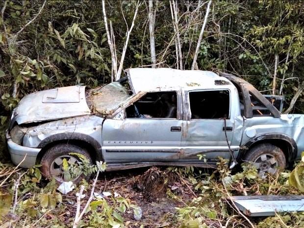 Acidente ocorreu na estrada que liga Manaus a Autazes (Foto: Arquivo Pessoal)