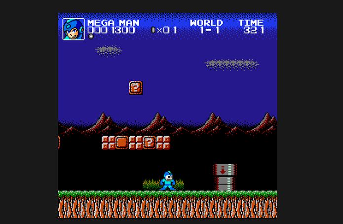 Inicie sua partida no Super Mario Crossover (Foto: Reprodução/Murilo Molina)