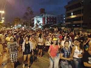 Parada Gay em João Pessoa  (Foto: Walter Paparazzo/G1)