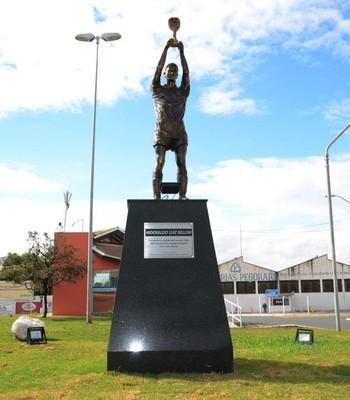 Bellini estátua Itapira (Foto: Divulgação / Prefeitura de Itapira)