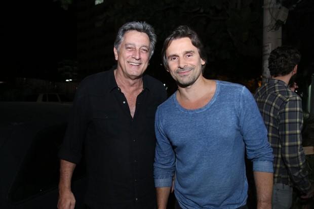 Eduardo Galvão e Murilo Rosa (Foto: Daniel Pinheiro/AgNews)