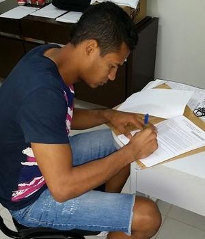 Diogo Silva, Luverdense (Foto: Divulgação)