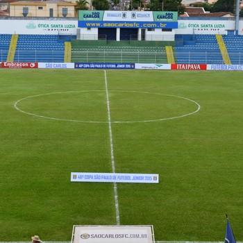 Estádio Luisão, em São Carlos (Foto: Angelo Tedeschi)